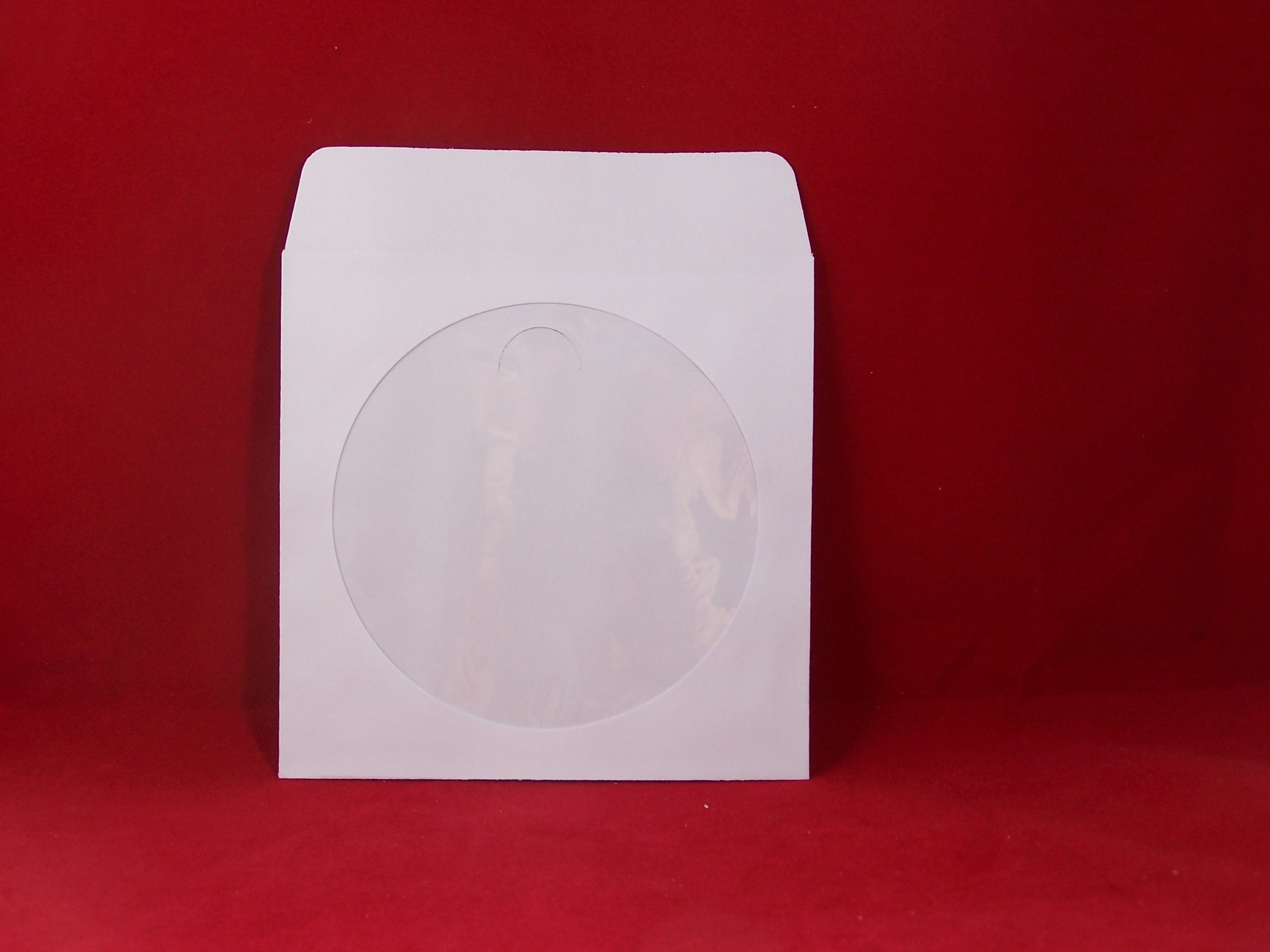 Buy online on paper adhesive flap and back adhesive for 100 paper cd sleeves with window flap