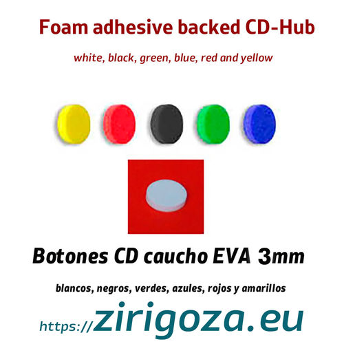 CD / DVD Hub EVA foam CD Hub