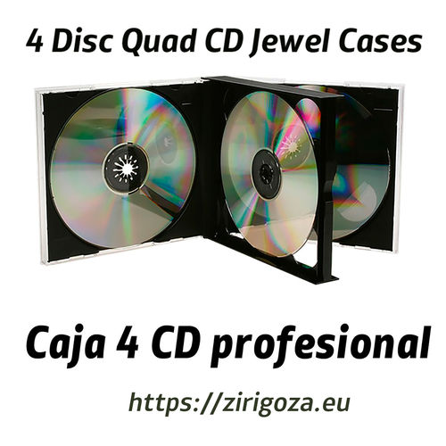 Buy 4 CD case or CD box 4 professional