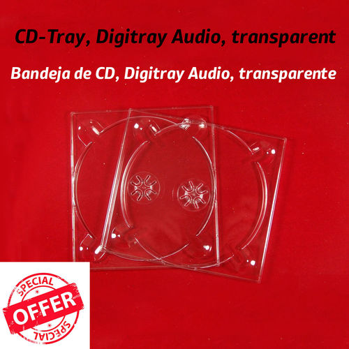 Digipack® / Digi Tray  CD transparent
