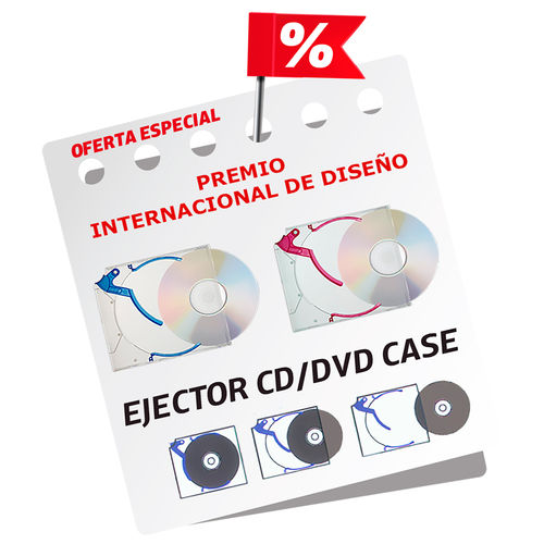 Ejector® CD/DVD Slim Case