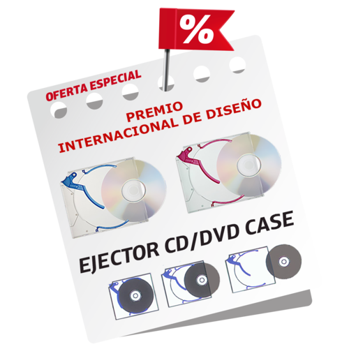 Ejector® CD/DVD Slim Case 5.2 mm