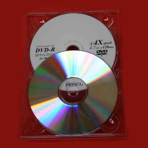 Comprar Digipack transparente 2 DVD slim 4.8 mm.