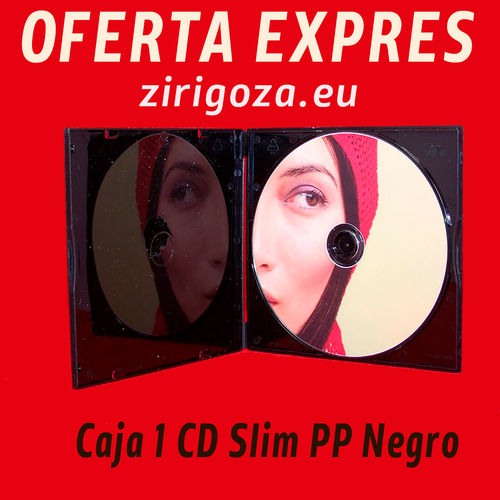 1 CD Slim PP Black