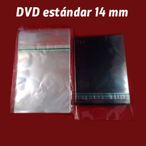 Funda para retractilar cajas DVD 14mm (estandar)