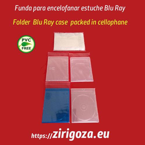 Funda Para Retractilar O Encelofanar Cajas CD DVD Y Sobres