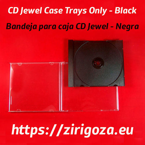 Tray 1 CD case Jewell Box