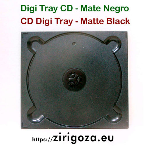 Digipack CD negra mate