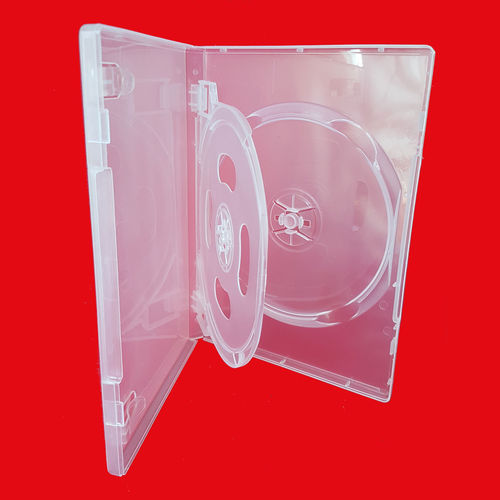 Buy online DVD box with tray transparent 3