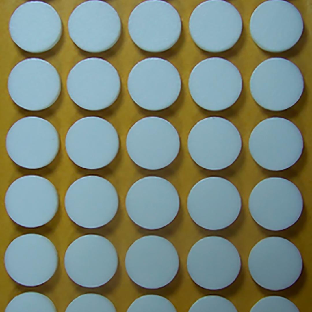 Button Cd Foam Eva Adhesive White 3 Mm In Roll 2000 Units