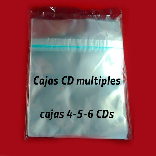 Funda Funda para retractilar cajas CD múltiple