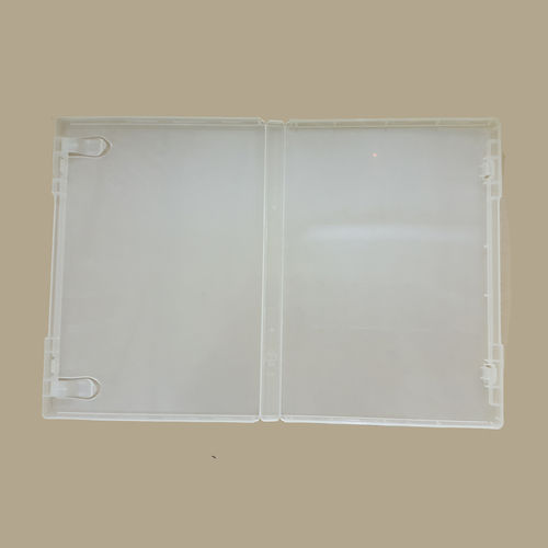Clear DVD case without button