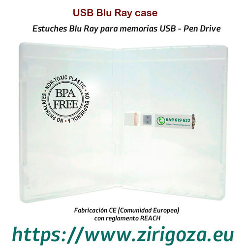 Estuches Blu Ray USB