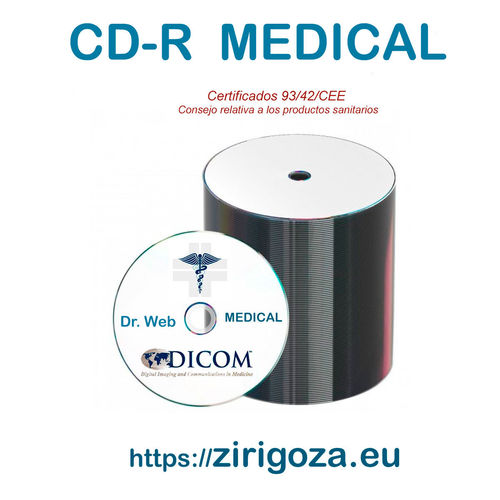 MEDICAL CD Blanco Taiyo Yuden