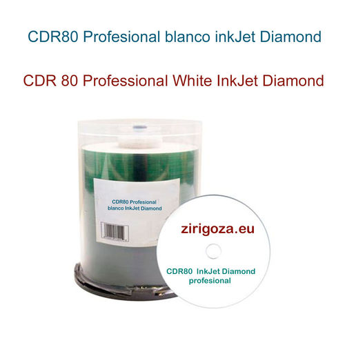 CD Professional White InkJet Diamond