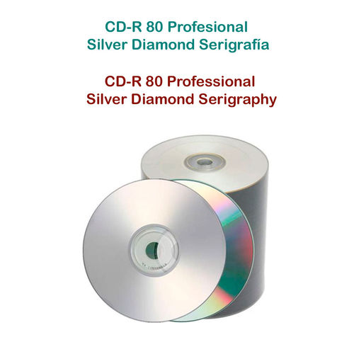 CD Professional Silver  Diamond  Serigraphy