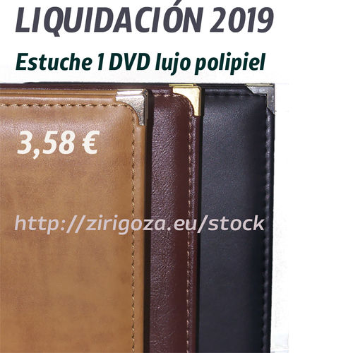 Luxury Tan Color DVD (brown)