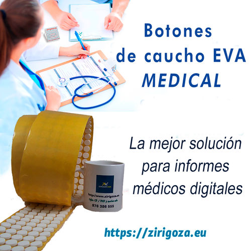 Botón CD adhesivo MEDICAL y envió gratis