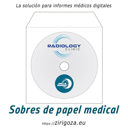 Medical paper envelopes